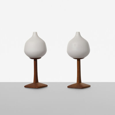 Uno and Osten Kristiansson, 'Table Lamps Model 104, Pair', 1952