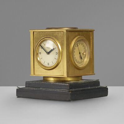 Paul Dupré-Lafon, 'Compendium desk clock', c. 1940