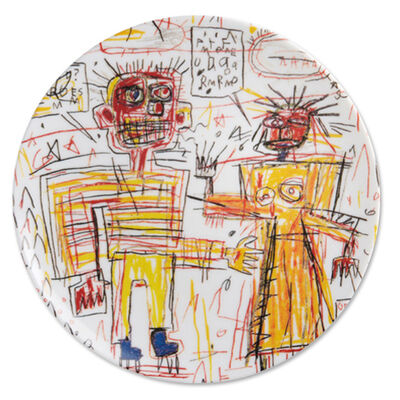 Jean-Michel Basquiat, 'Self-Portrait Plate', 2016