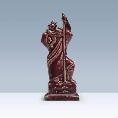 Jais Nielsen, 'Stoneware figurine of Saint Christophorus', 1944
