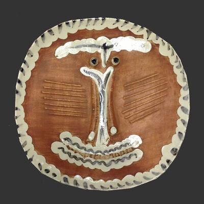 Pablo Picasso, 'Visage au nez pince (A.R. 414)', 1959