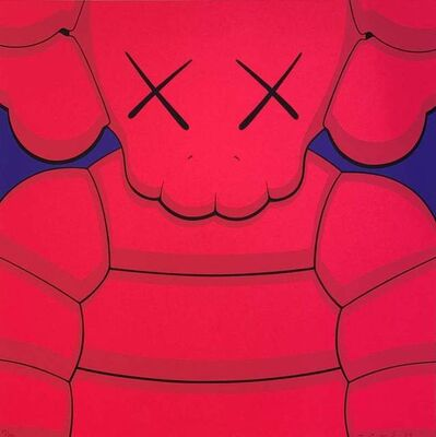 KAWS, 'What Party Print (Pink)', 2020
