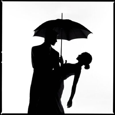 Tyler Shields, 'Umbrella Silhouette', 2020