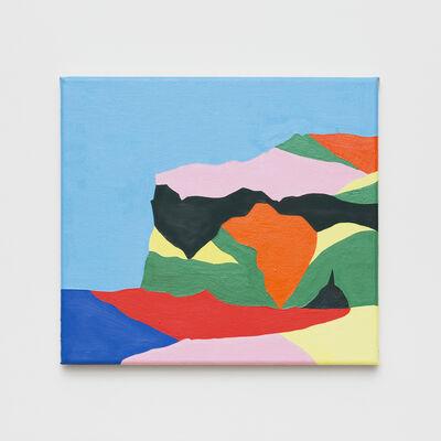 Tessa Perutz, 'East Iceland Coastline', 2017