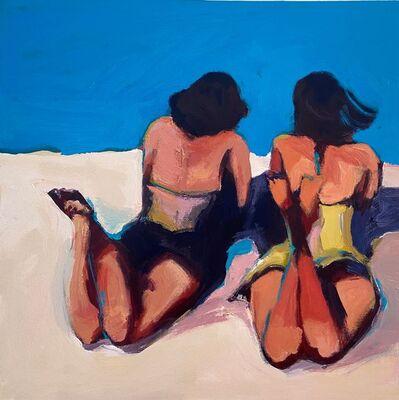 Daniela Schweitzer, 'Relaxing at the Beach', 2020