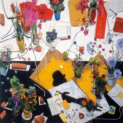 Manny Farber, 'Cezanne Avait Ecrit', 1986
