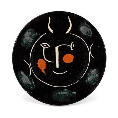 Pablo Picasso, 'Service visage noir - Schwarzer Faun', 1948