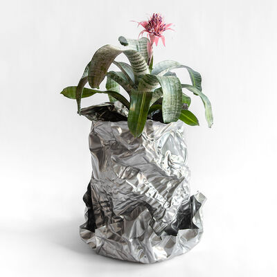 Christopher Prinz, 'Wrinkled Outdoor Planter', 2019