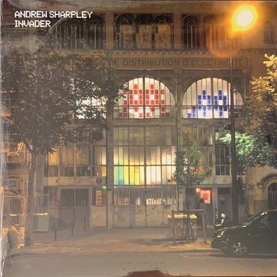 Invader, 'SPACE INVADER Andrew Sharpley Vinyl LP X/1000 Limited Edition Sold Out Mint Vinyl ', 2021