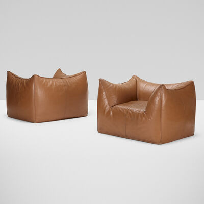 Mario Bellini, 'Le Bambole lounge chairs, pair', 1972