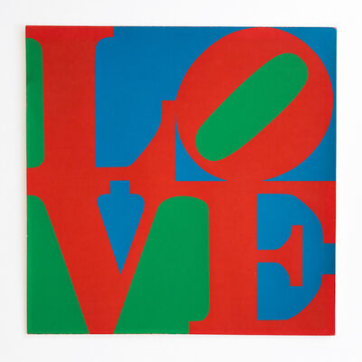 Robert Indiana, 'LOVE – MoMA Christmas Card', 1965