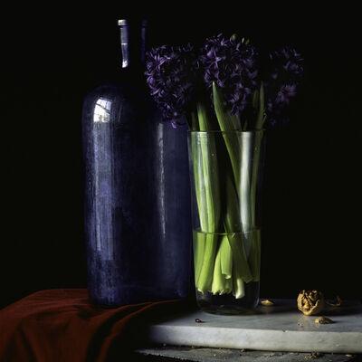Paul Cary Goldberg, 'Still Life with Hyacinth and Walnut'