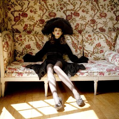Rodney Smith, 'Woman on Floral Sofa', 2004