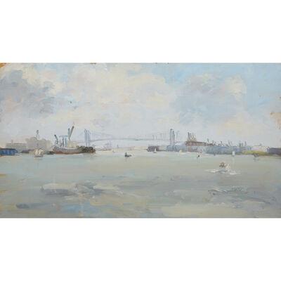 Stuart Shils, 'Delaware River, Philadelphia'