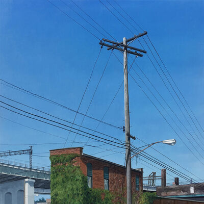 Christopher Burk, 'Connected - Cleveland The Flats I', 2016