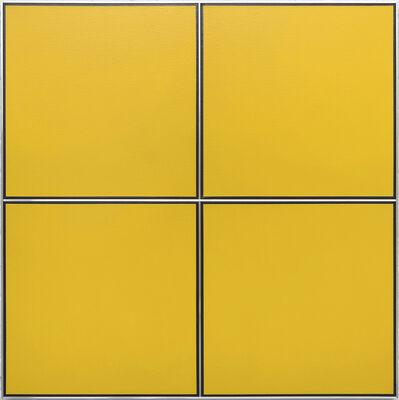Tadaaki Kuwayama, 'TK8339-3/4-68 (Mustard Yellow)', 1968