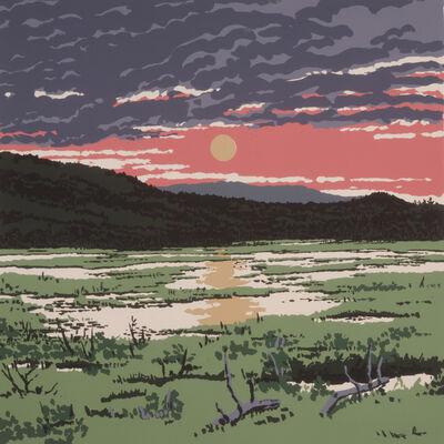 Neil G. Welliver, 'Greer's Bog', 1973