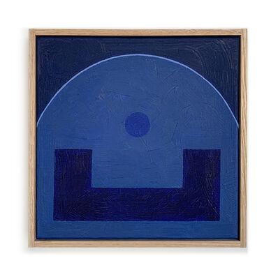 Carla Weeks, 'Monochrome Study in Blue 3', 2020