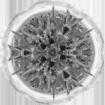 Roberto Lombana, 'Mandala New York Empire', 2014