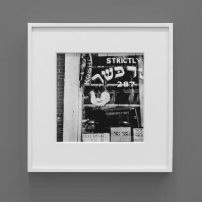 Irving Penn, 'Kosher Butcher, New York', 1939