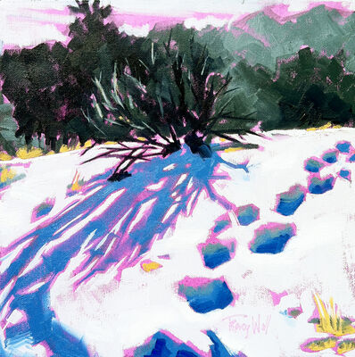 Tracy Wall, 'Fresh Tracks on Lookout Mtn.', 2015