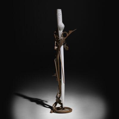 Albert Paley, 'White Tusk', 2000