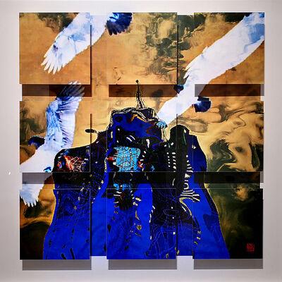 Wenjun Fu, 'Birds Flying over Head', 2018