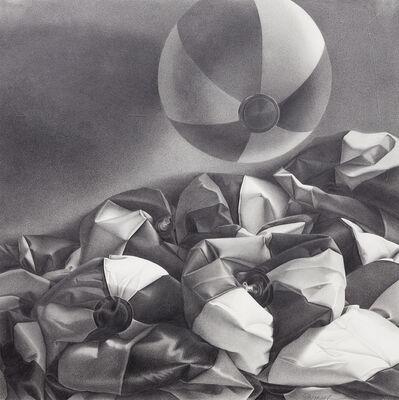 Lorraine Shemesh, 'Untitled (deflated beach balls, one floating)', 1988