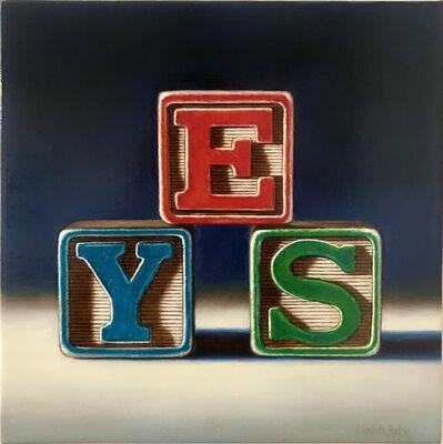 Elizabeth Barlow, 'YES', 2020