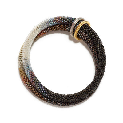 Claire Kahn, 'SFUMATO BRACELET WITH GOLD BANDS', ca. 2018