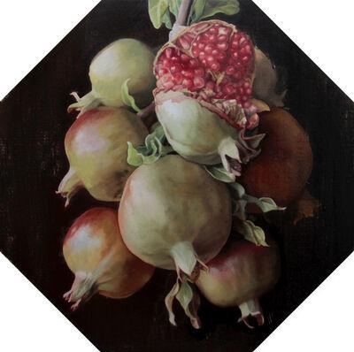 Alfonso Luque Escamilla, 'Pomegranates, still-life', ca. 2018