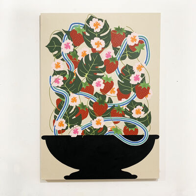 Stephen D'Onofrio, 'Fruit Bowl with Strawberries', 2019
