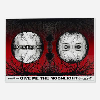 Gilbert and George, 'Give Me the Moonlight', 2008