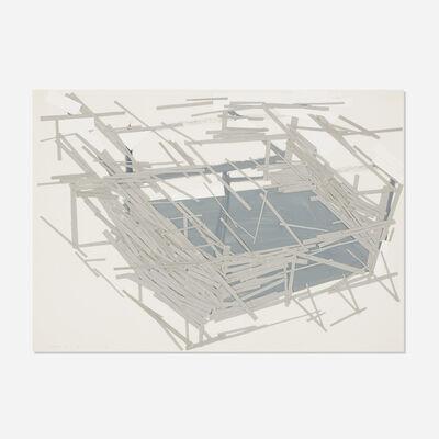 Tadashi Kawamata, 'Site Plan 3', 1991