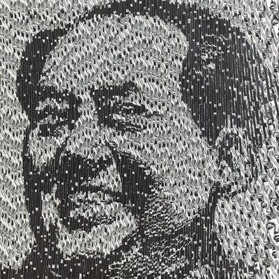 David Mach, 'Mao', c.2014
