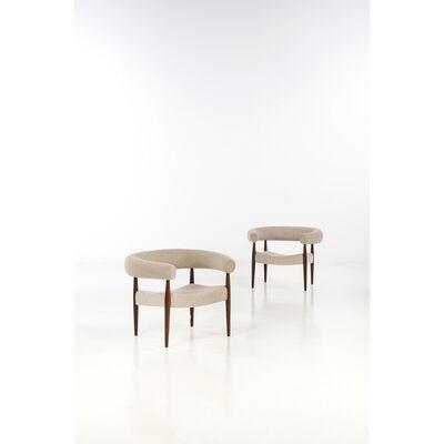 Nanna Ditzel, 'Model 2611 «Saussage», Pair of armchairs', 1958