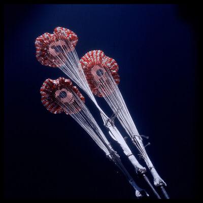 Michael Light, '125 Command Module Splashdown Parachutes Upon Opening; Attributed to Alan Bean, Skylab 3, July 28-September 25, 1973', 1999