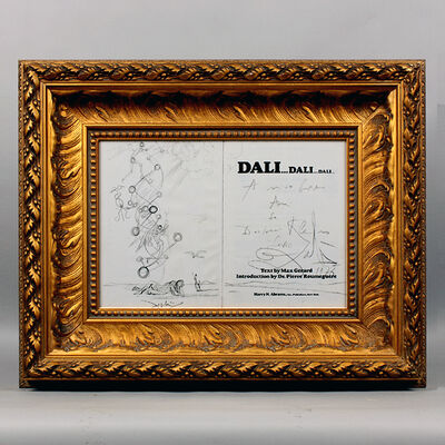 Salvador Dalí, 'Dali & DNA', 1975
