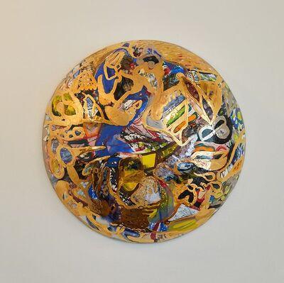 Reinaldo Sanguino, 'Metallic Ceramic Wall Bubble', 2017