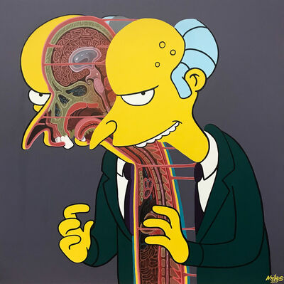 NYCHOS, 'Cross Section of Mr. Burns', 2019