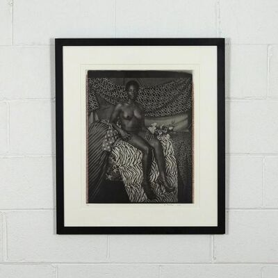 Mickalene Thomas, 'Portrait of Marie', 2012
