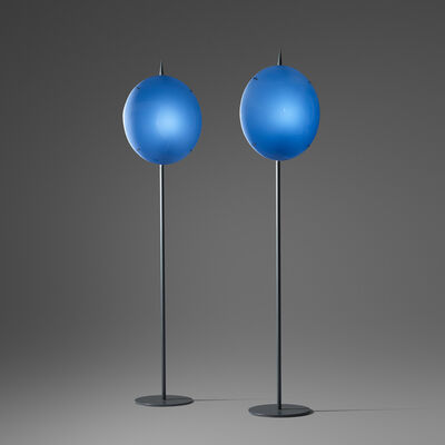 Gio Ponti, 'Pair of Luna Lamps from Villa Arreaza, Caracas', 1954