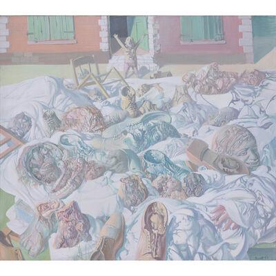 Miodrag Djuric, dit DADO, 'L'expulsion à Montrouge', 1967