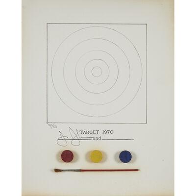 Jasper Johns, 'Target', 1971