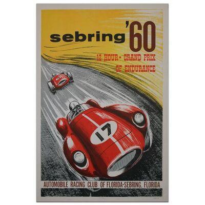 Event Poster, 'Sebring 12 Hours 1960', 1960