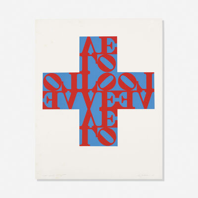 Robert Indiana, 'Love Cross', 1968
