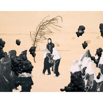 Mojdeh Rezaeipour, 'Inside These Walls'
