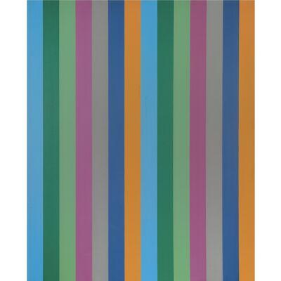 Guido Molinari, 'Sériel Bleu-ocre, 10', 1967