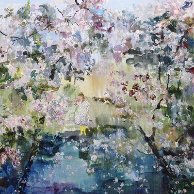 Darlene Cole, 'Entwine (cherry blossoms + polka-dots)', 2019