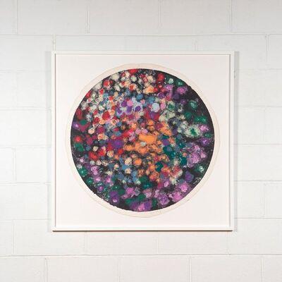"""Friedel Dzubas (1915-1994), 'Untitled (GT/FD 1982 W4) aka """"Tondo"""" ', 1982"""